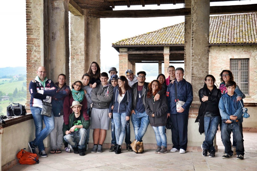 La classe 2a biennio di cucina, in gita a Modena e dintorni