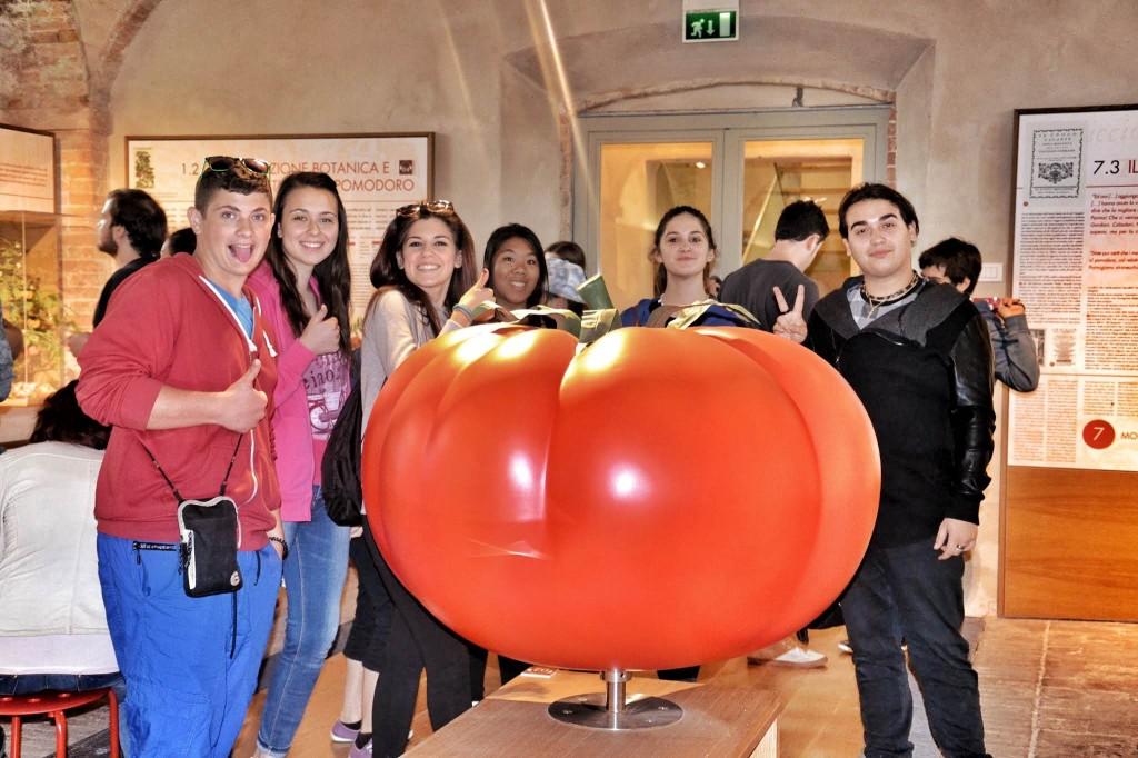 """La visita al """"Museo del Pomodoro"""""""